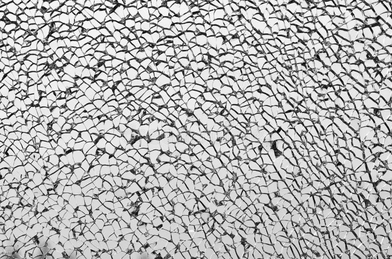 Tuiles blanches texturisées cassées photographie stock libre de droits