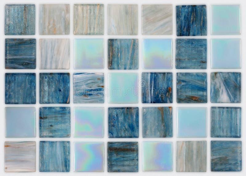 Tuiles carrées en marbre avec des effets image libre de droits