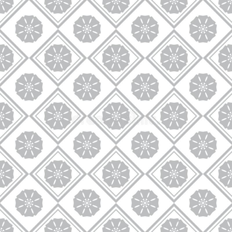 Tuiles décoratives en céramique illustration de vecteur