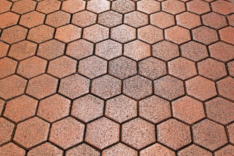 Tuiles d'hexagone photographie stock libre de droits