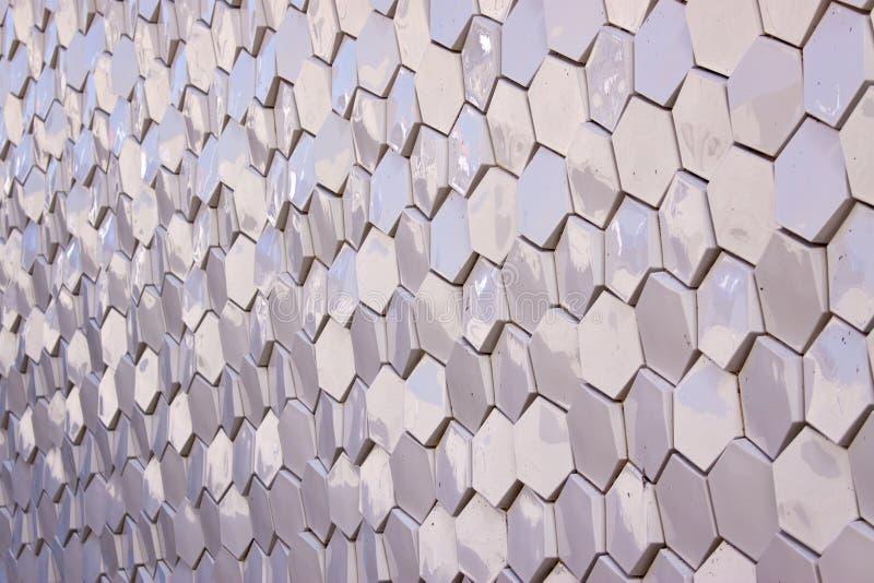 Tuiles d'hexagone image stock