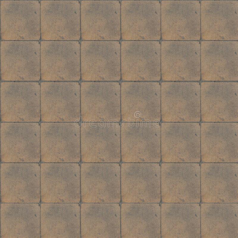 Tuiles de maison de plancher rétros Couleur beige photographie stock libre de droits
