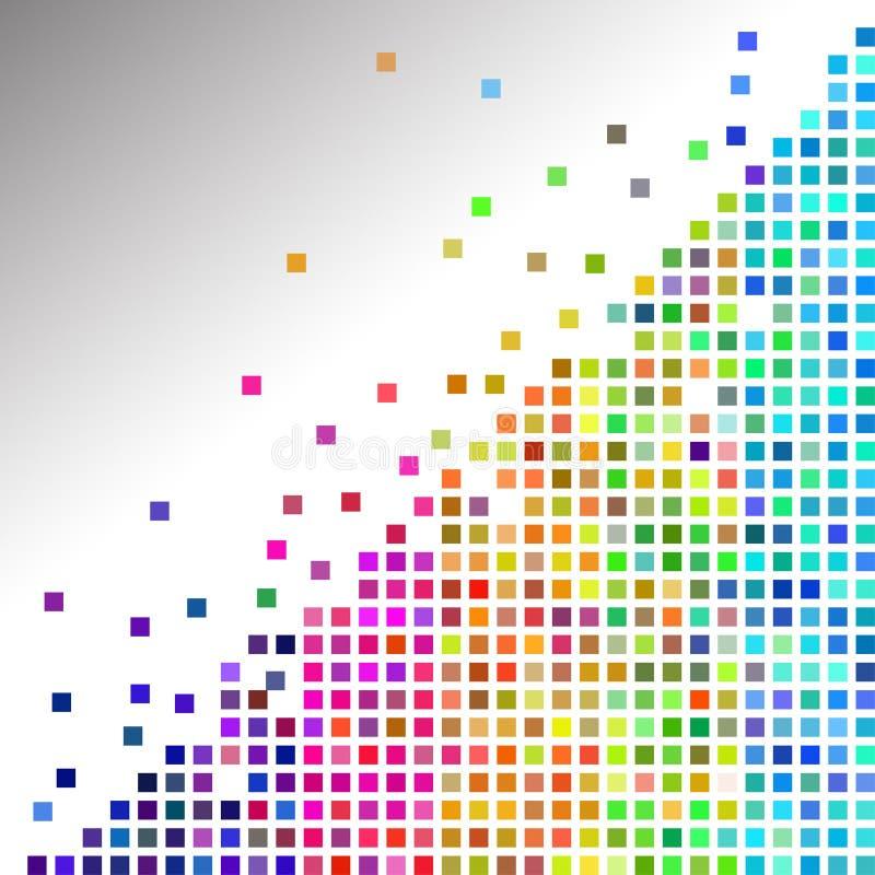 Tuiles de mosaïque colorées illustration libre de droits