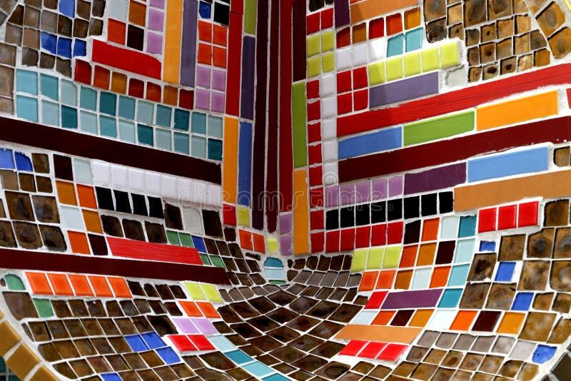 Tuiles de mosaïque colorées photos stock