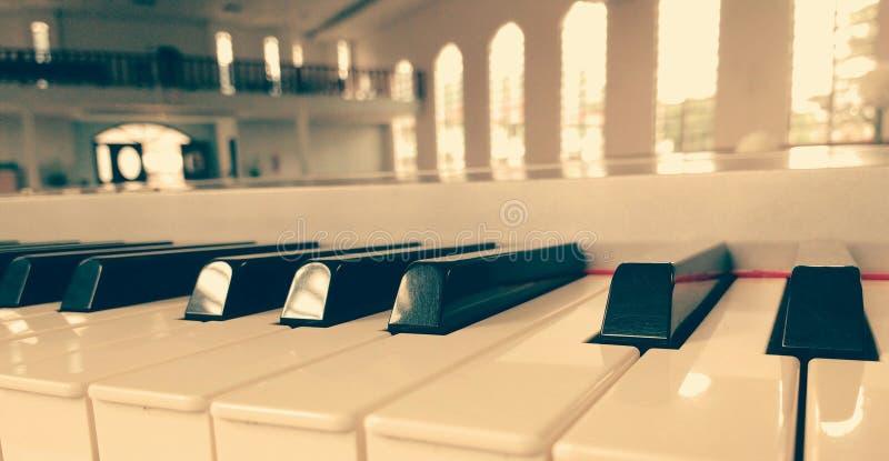 Tuiles de piano photo libre de droits
