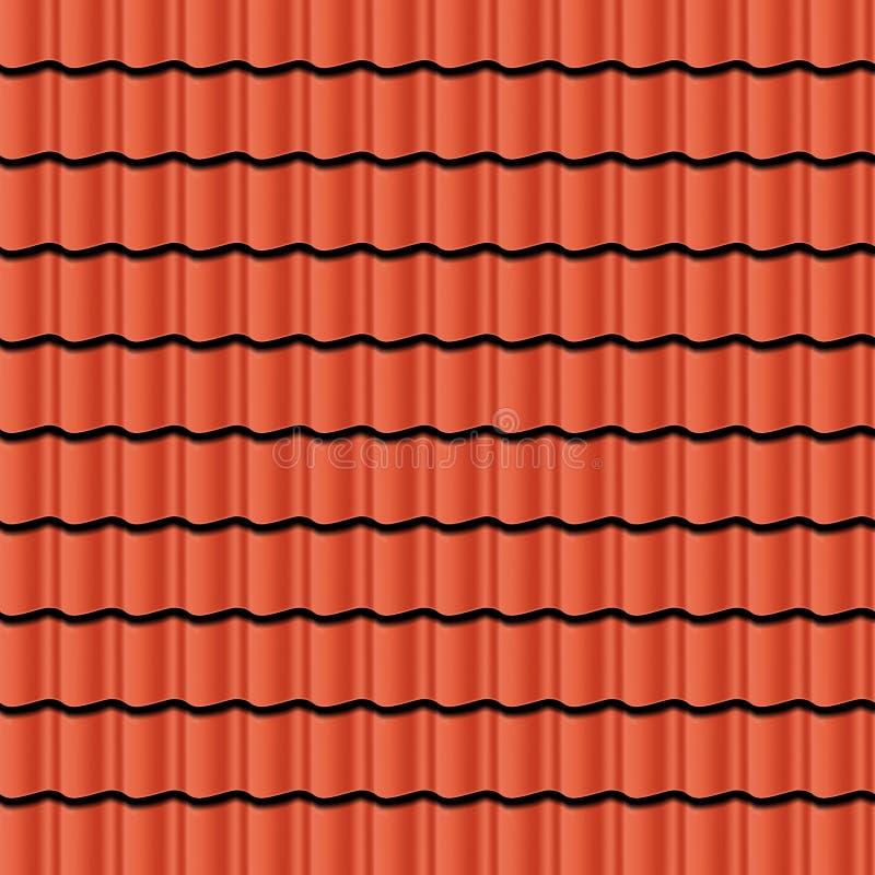 Tuiles de toit illustration de vecteur