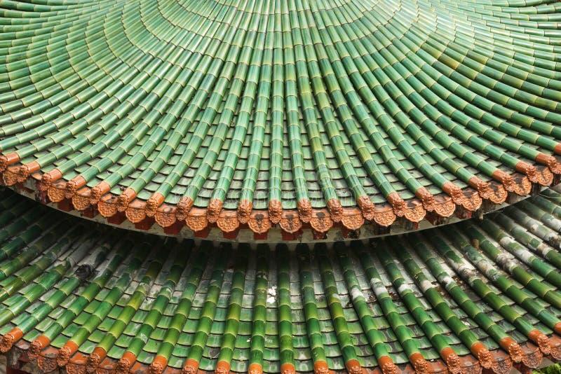 Tuiles de toit chinoises de pagoda photos libres de droits
