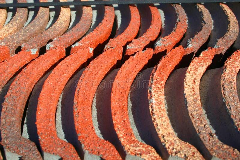 Tuiles de toiture photos stock