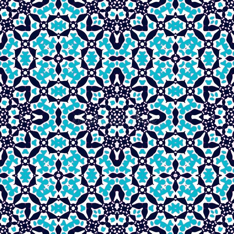 Tuiles marocaines - modèle sans couture illustration de vecteur