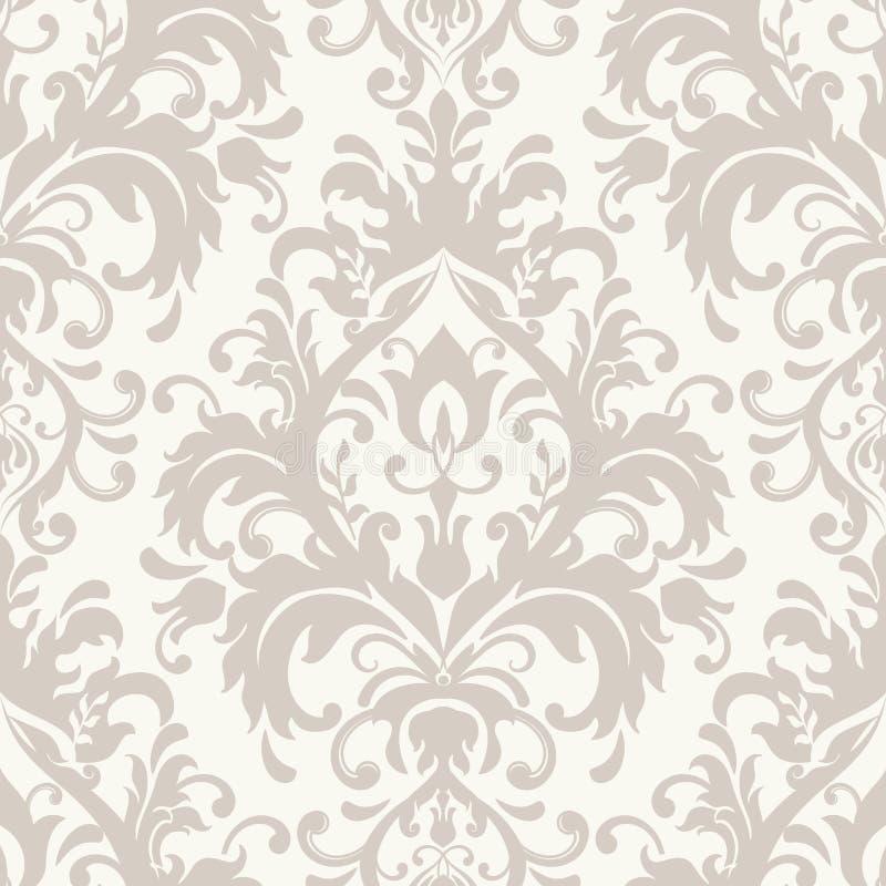 Tuiles modelées par vintage Tuiles modelées de plancher et de mur Tuiles décoratives en céramique Texture de fleur de vintage illustration stock