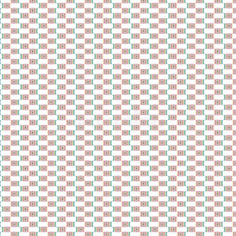 Tuiles modernes Dots Pattern Background d'élégance unique élégante dynamique abstraite vibrante de simplicité illustration libre de droits