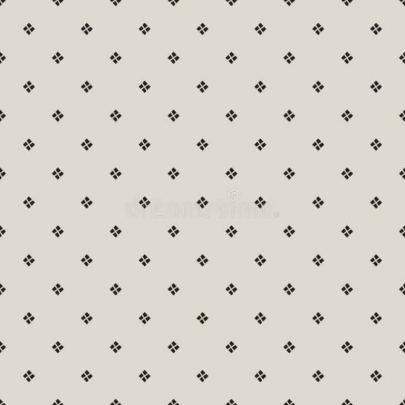 Tuiles ou tissu sans couture de fond de vecteur de modèle avec la place illustration stock