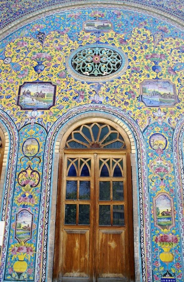 Tuiles persanes photographie stock