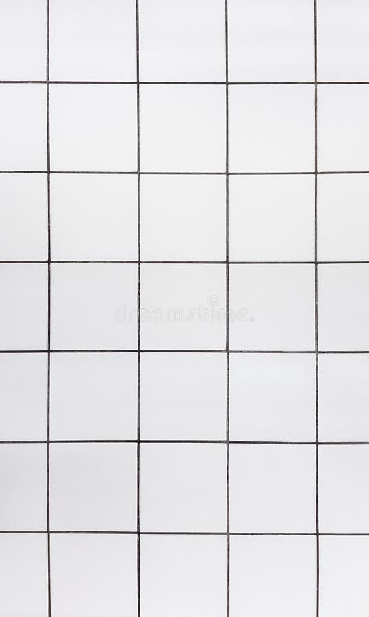 Tuiles, plancher de marbre blanc, fond photographie stock libre de droits