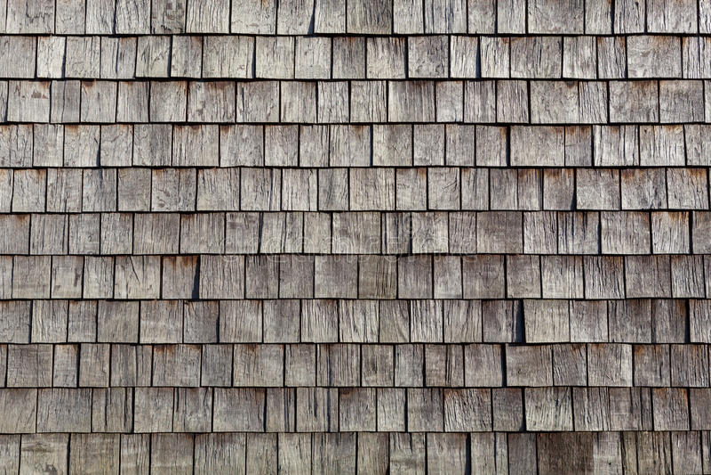 Tuiles simples en bois photo stock