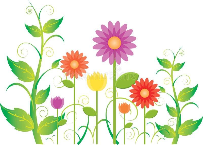 Tuin stock illustratie