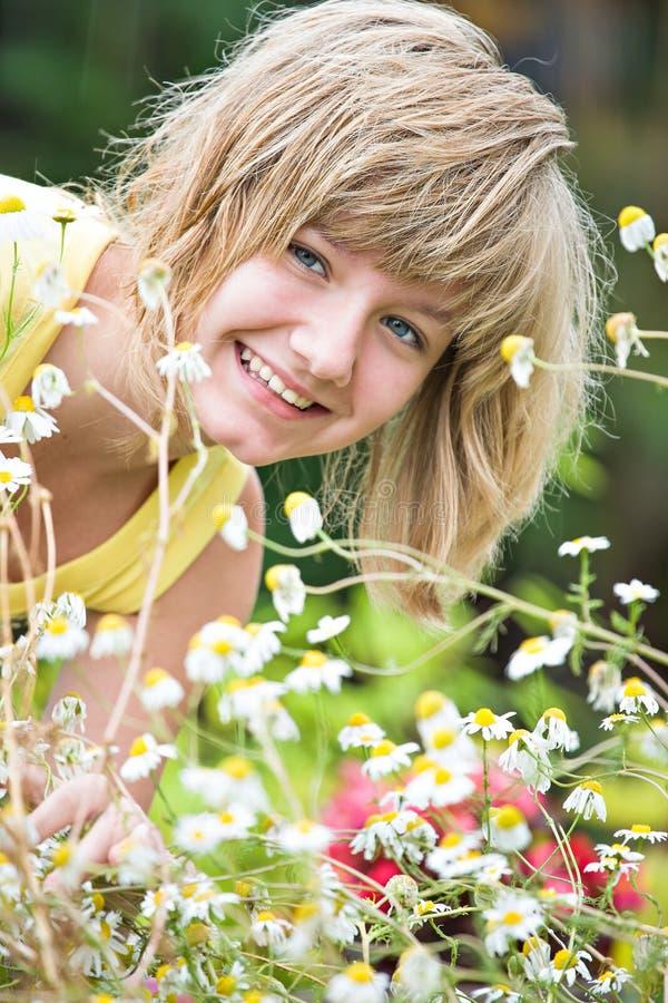 In tuin stock foto's