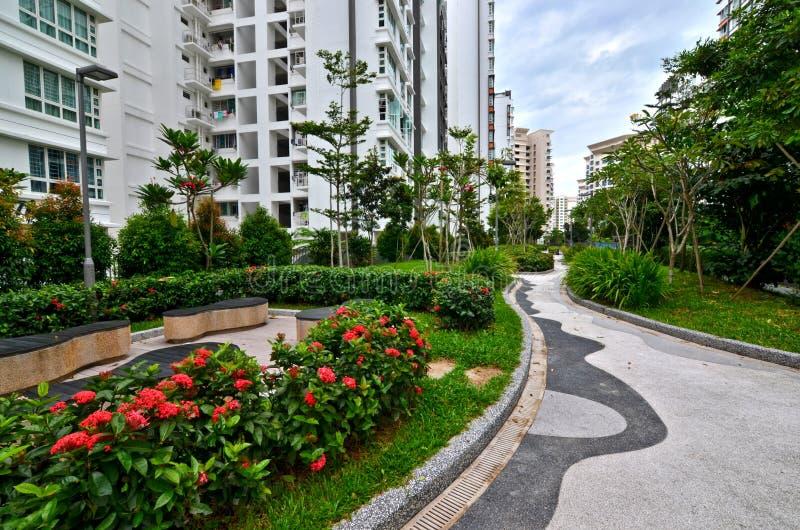 Tuin het Modelleren Woonwijk, Singapore royalty-vrije stock fotografie