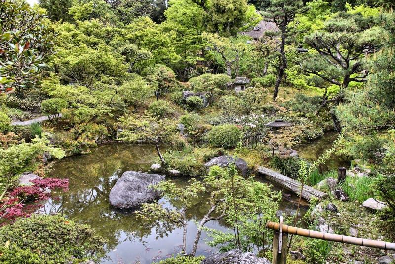 Tuin in Japan stock foto's