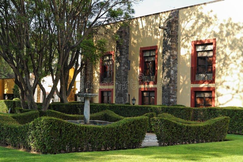 Tuin in Morelos royalty-vrije stock afbeelding