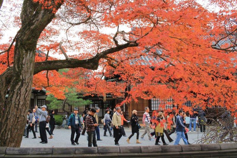 Tuin van byodo-in Tempel in Kyoto, Japan royalty-vrije stock afbeelding
