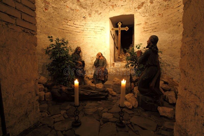 Tuin van Gethsemane stock foto's