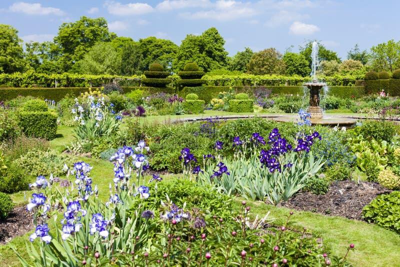 Tuin van Hatfield-Huis, Hertfordshire, Engeland royalty-vrije stock fotografie
