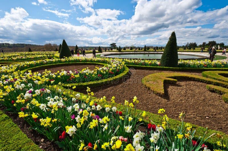 Tuin van Paleis van Versailles stock afbeelding