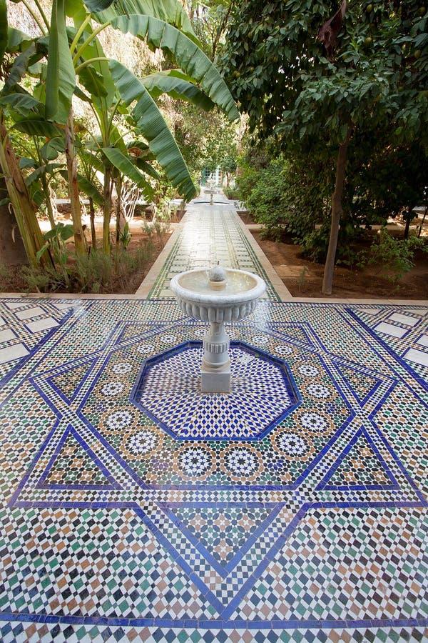 Marokkaanse Tegels Tuin.Mozaiek Tegels Tuin
