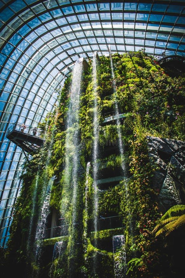 Tuinen door de Baai Singapore stock fotografie