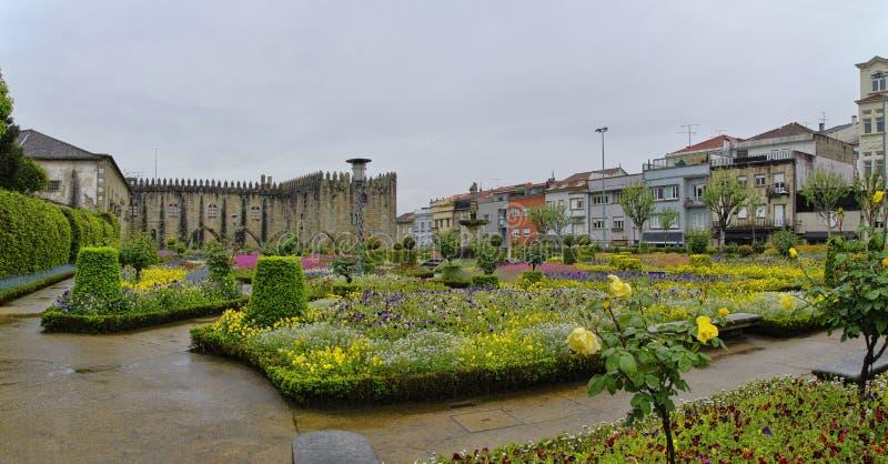 Tuinen van Santa Barbara van Braga royalty-vrije stock afbeeldingen