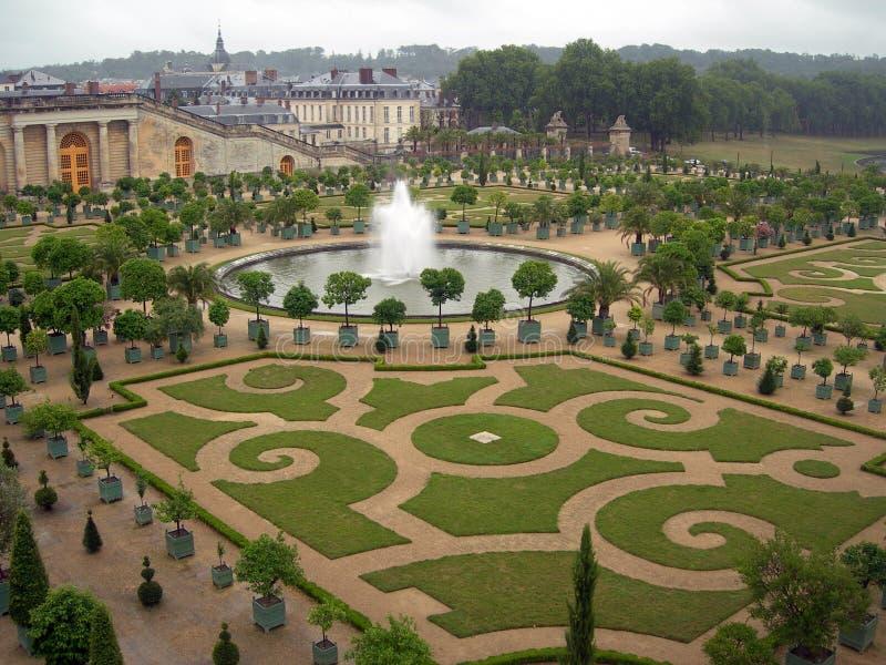 Tuinen van Versailles stock foto