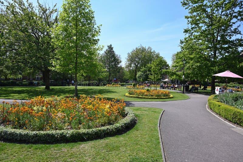 Tuinen in Winchester royalty-vrije stock foto