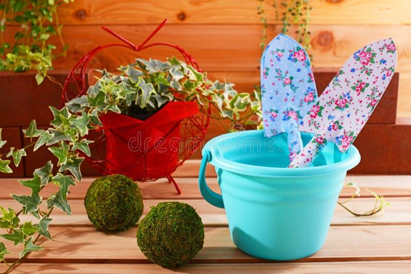 Tuinlevering stock afbeeldingen