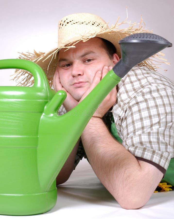 Download Tuinman stock foto. Afbeelding bestaande uit hoed, mens - 278566