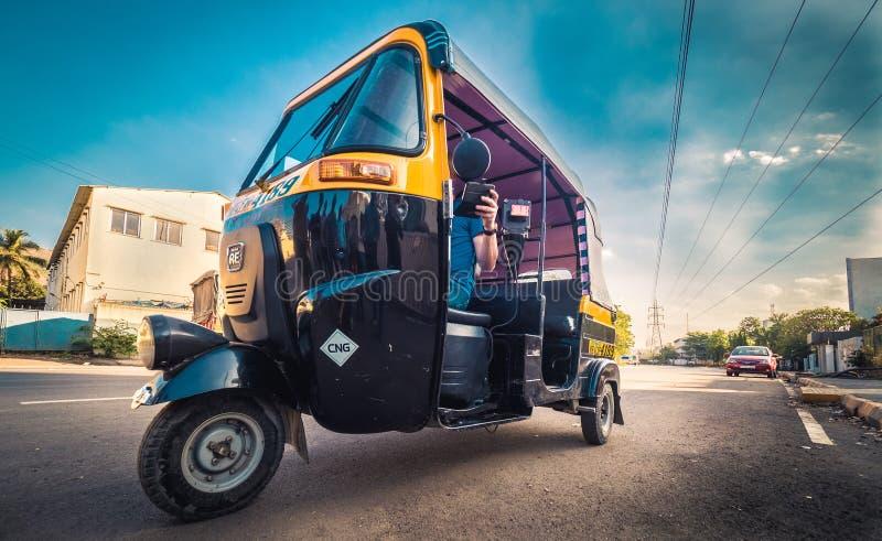 Tuk Tuk στην Ινδία στοκ εικόνες