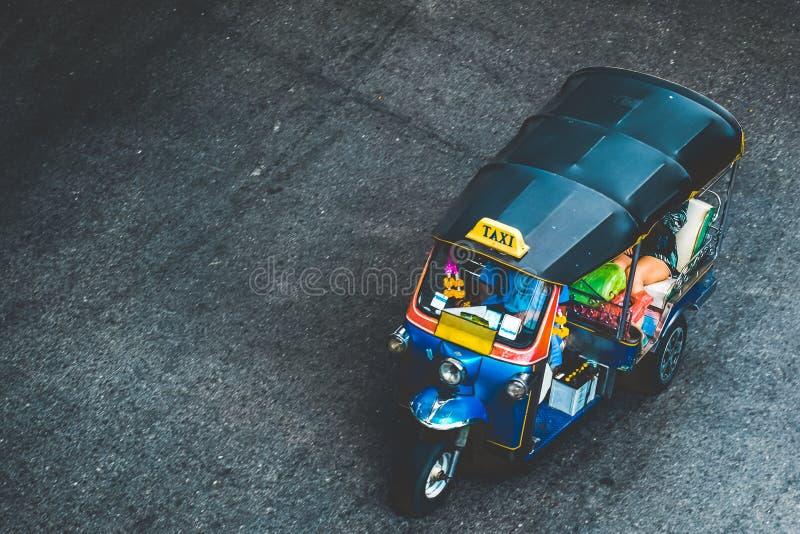 Tuk tuk in Bangkok royalty-vrije stock foto