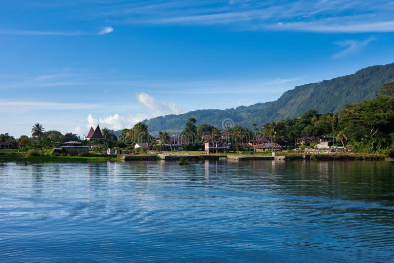 Tuk Tuk, Samosir, lago Toba, Sumatra foto de stock