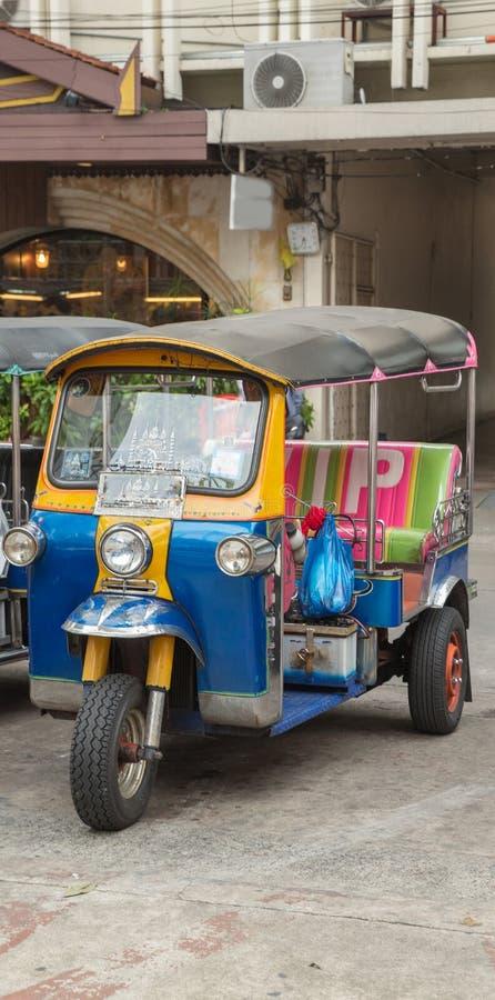 Tuk Tuk泰国运输 免版税库存图片