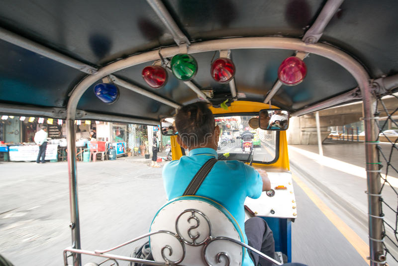Tuk tuk driver royalty free stock photo