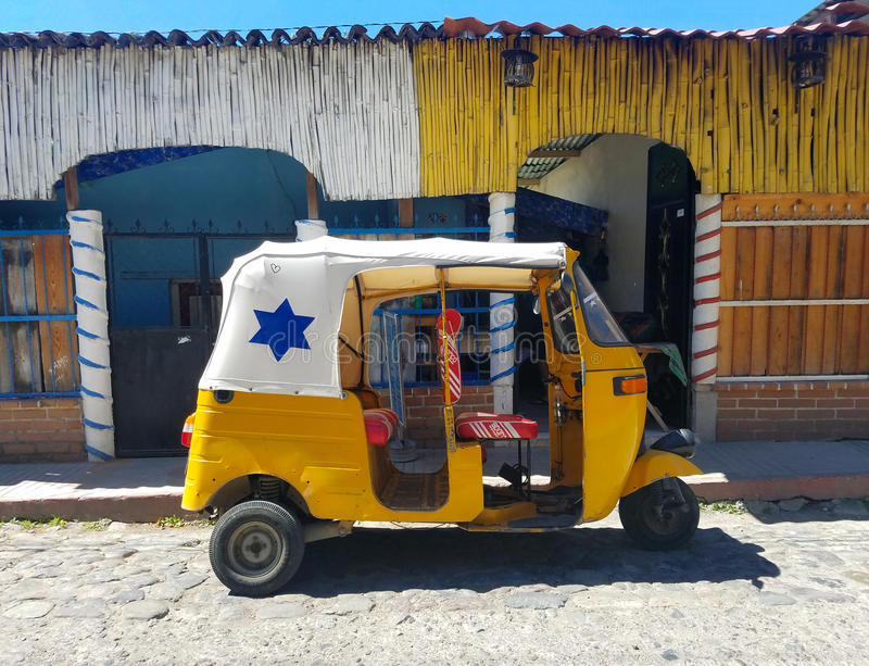 Tuk Tuk in Guatemala stock image