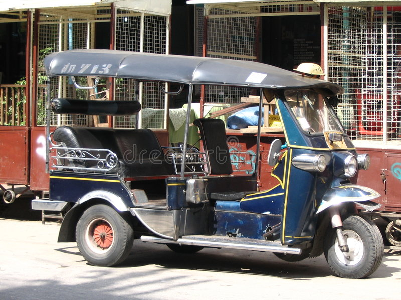 Tuk Tuk in Thailand stock photos