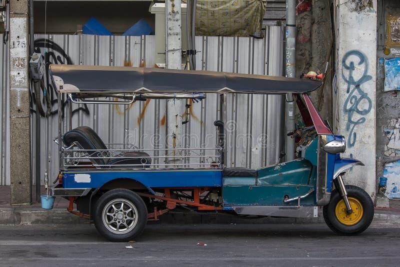 Tuku tuk w Bangkok, Thailand obraz stock