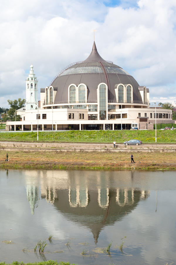 Tula cityscape arkivbilder
