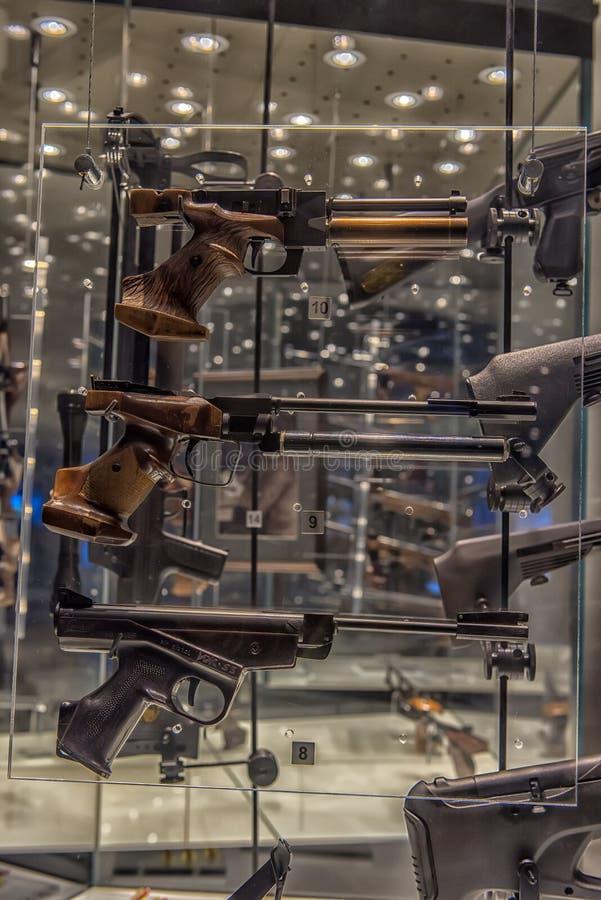 Tula stanu muzeum bronie - stary muzeum bronie w Rosja, jeden główni przyciągania Tula obraz royalty free
