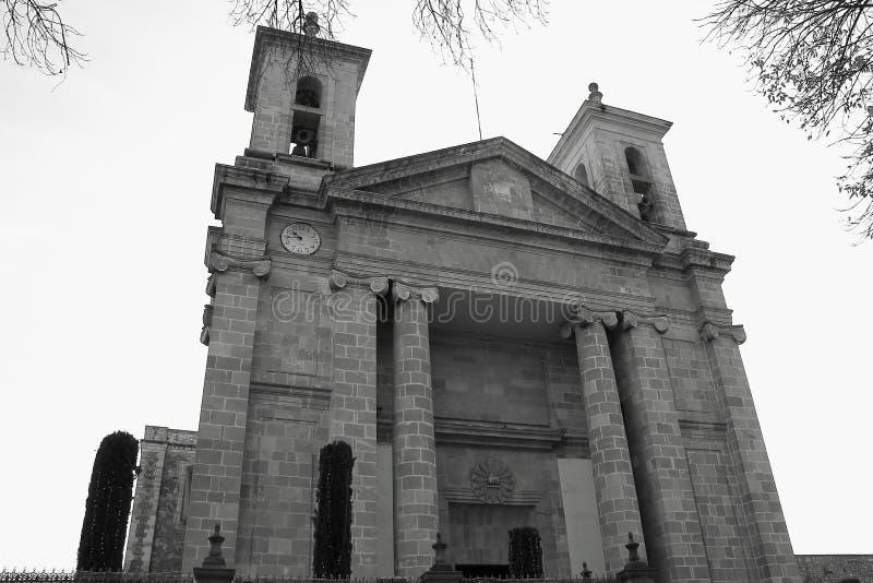 Tulancingo katedra II fotografia royalty free