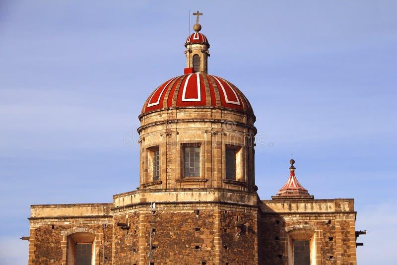 Tulancingo katedra Ja zdjęcia royalty free