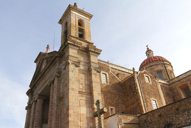Tulancingo katedra V obrazy stock