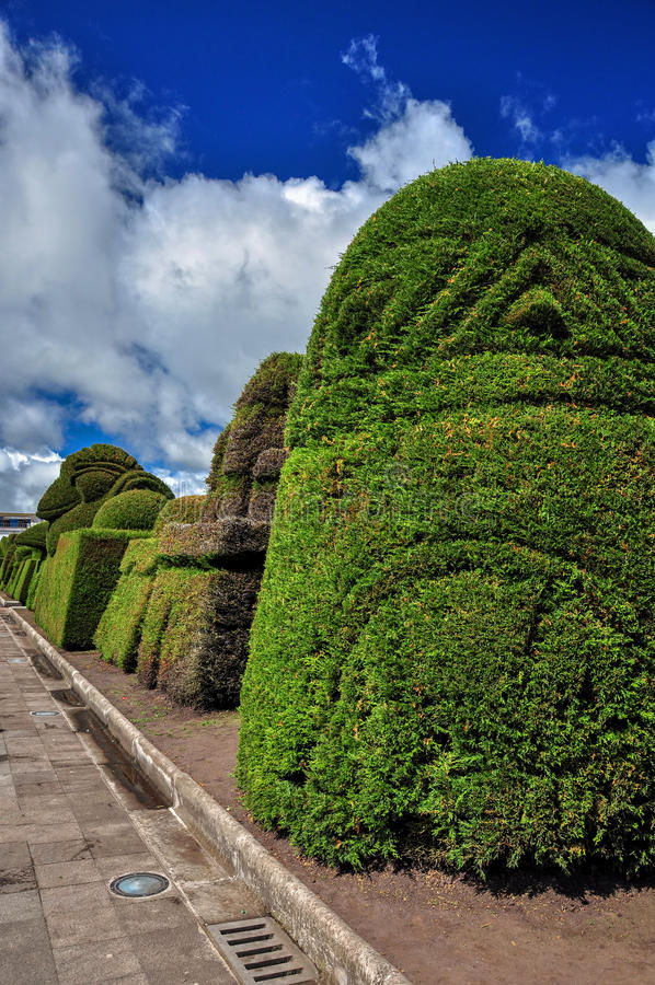 Tulcan é a capital da província de Carchi imagem de stock royalty free