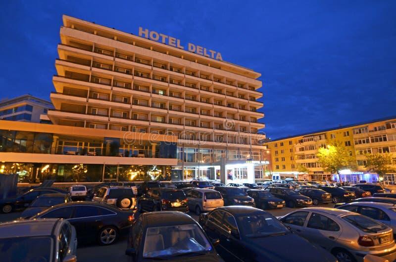 Tulcea Hotel stockfotografie